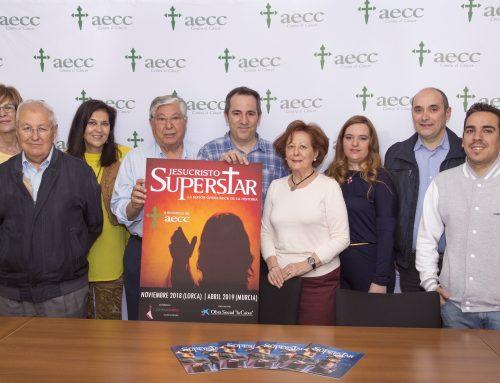 Jesucristo Superstar Murcia colabora en su nueva temporada con la AECC