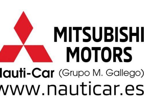 Nauti-Car concesionario Oficial Mitsubishi nuevo patrocinador